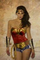 BAR REFAELI as Wonder Woman by NigelHalsey