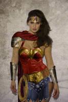 BAR REFAELI as Wonder Woman C by NigelHalsey