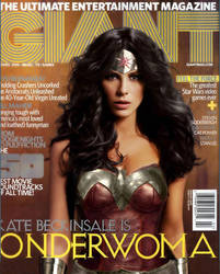 Kate Beckinsale as Wonder Woman by NigelHalsey