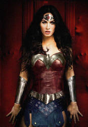 Megan Fox Wonder Woman by NigelHalsey