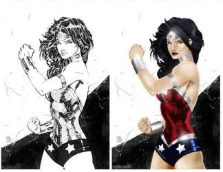 Wonder Woman by Jim Lee by NigelHalsey