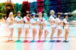 Sailor Sailors Make Up!! by KoriStarfire