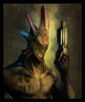 I Alien NY by vijil