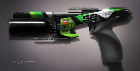 Pistol paint by vijil