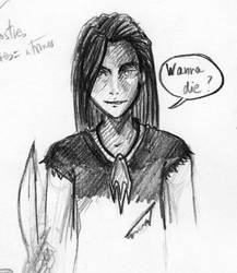 Wanna die? by pokesafari