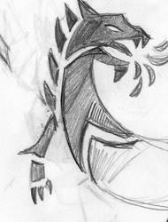 dragon tattoo by pokesafari
