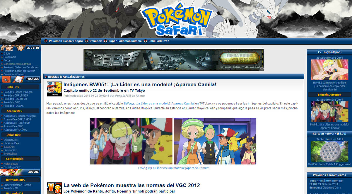 www.PokemonSafari.net by pokesafari