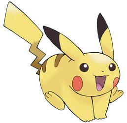 Pikachu by pokesafari