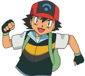 Ash Pokemon DP by pokesafari