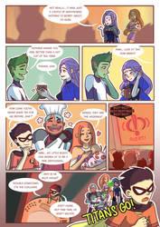 Titans: Refuge in Arkham #29 by samarasketch