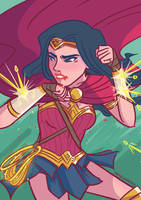 Wonder Woman: Warriors by samarasketch