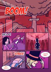 Titans: Refuge in Arkham #30 by samarasketch