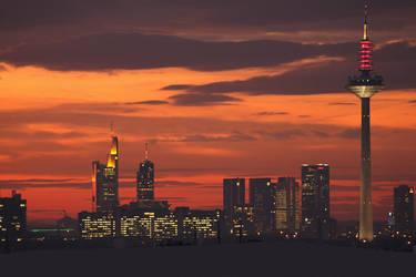Sunrise Frankfurt by westi74