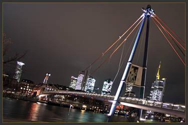 bridge at night by westi74