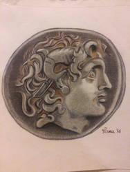 ancient coin by racuma