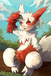 Zangoose by nightsanghaw
