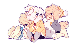innocent lil nuggets by wishtears