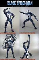 Custom Black Spider-Man by KyleRobinsonCustoms