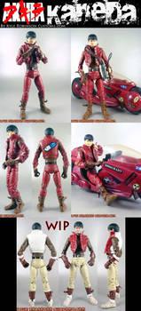 Kaneda Custom Akira Figure by KyleRobinsonCustoms