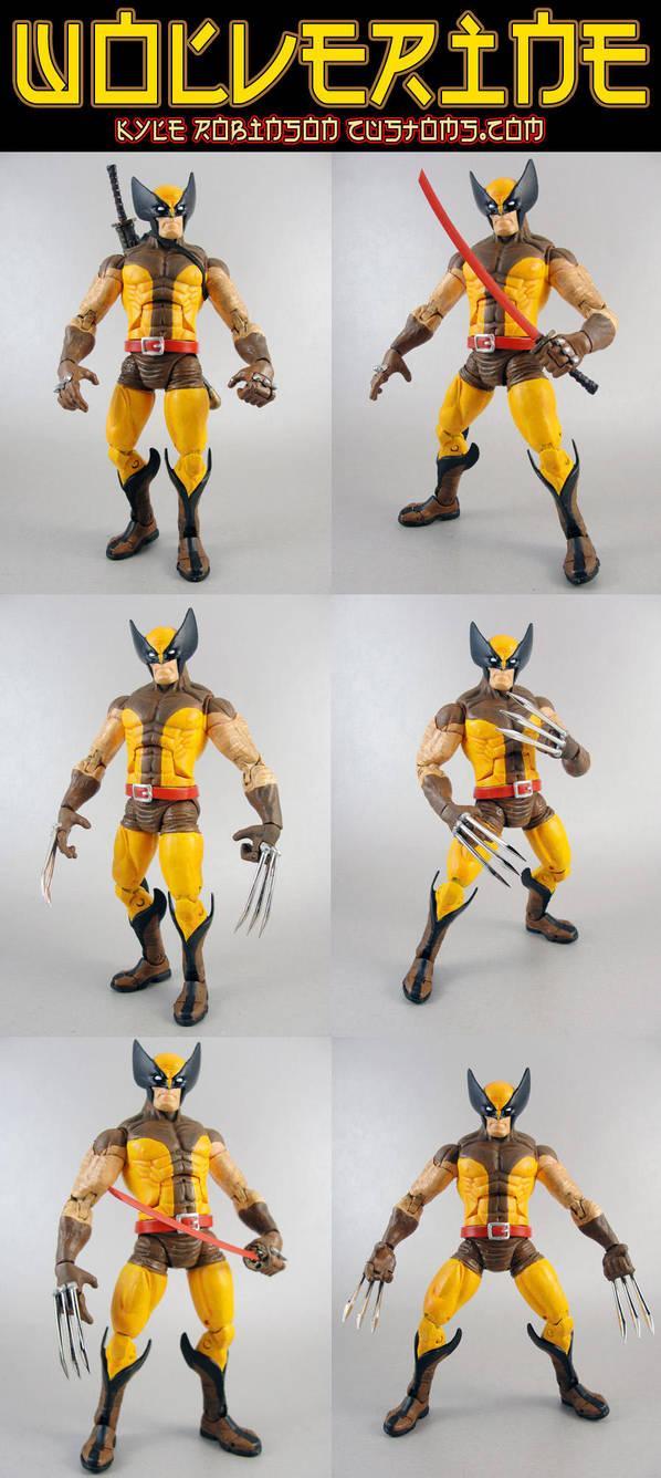 Custom Wolverine Brown Suit by KyleRobinsonCustoms