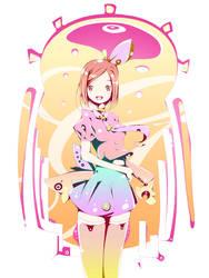 Rendering Girl by lolita9