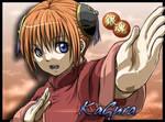 Gintama - Kagura by socchin
