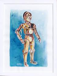 C-3PO by Deleitesemcor