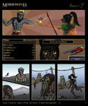 TES: Morrowind. Adventure of the Red mountains by Amee-J