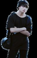 Jungkook (BTS) render by HikariKida