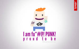 Proud to be: PUNK by lysergicstudio