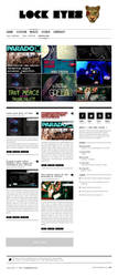 Lock Eyes online Magazine by lysergicstudio