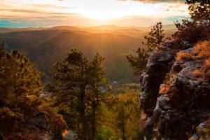 Rimrock Sunset by CharlieA-Photos