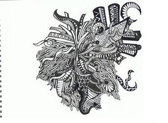 Doodle No.1 (''Tangled'') by Felderanto