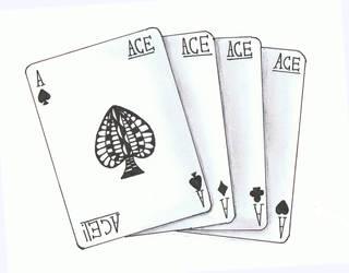 Doodle No.13 ''Straight Aces'' by Felderanto
