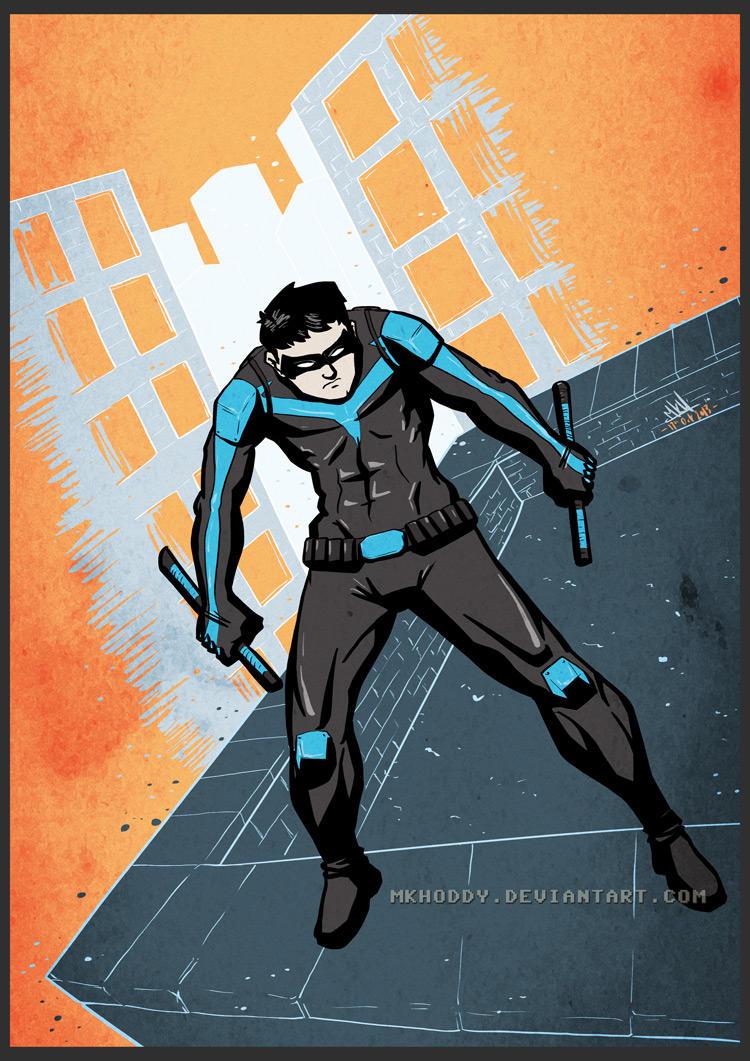 Nightwing by mkhoddy