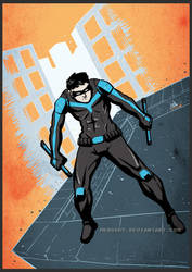Nightwing by mkhoddy