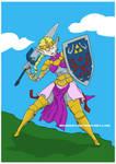 Princess Zelda by mkhoddy