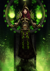 CM: Anzu, the Warlock II by Arcan-Anzas