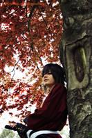Okita Souji _ Hakuouki by Yamaki-Chiya