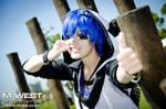 !Panda Hero! _ Vocaloid KAITO by Yamaki-Chiya