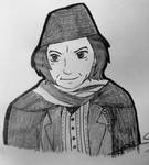 Inktober 2018-Day 1-First Doctor by Suichi-Ameria
