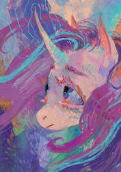 Starlight Glimmer by WolfieDrawie
