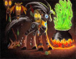 Nightmare Zecora by philo5