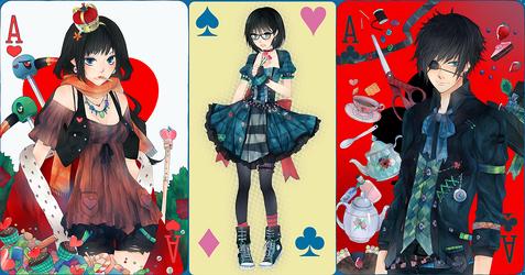 Alice in Wonderland by jvvvk