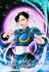 Cristian El Bravo - Chun Li by Patches1984