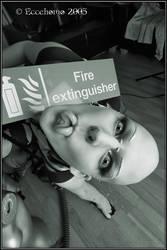 Fire Extinguisher by eccehomo