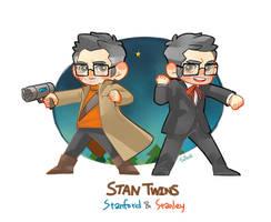 Chibi Stan Twins! by SAKAWA
