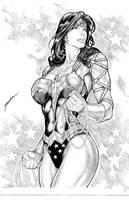 Wonder Woman by aldirrocha
