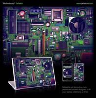Motherboard Gelaskin by DerekProspero