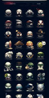 The Dilly Rank Icon Collection by DerekProspero